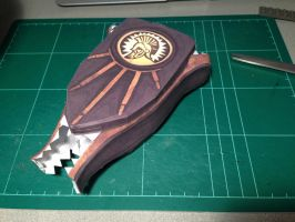Return to Sender Vigor Papercraft (WIP) by JouzuMania