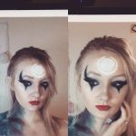 League of Legends- Diana inspired makeup/body art by JessAmeelia