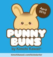 Punny Buns Logo Design by kimchikawaii