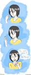 Rukia ' You want some? ' by Niveque