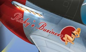 Ricky's Business - Nose Art by danyboz