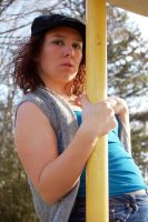 Becky at the Playground by jrbamberg