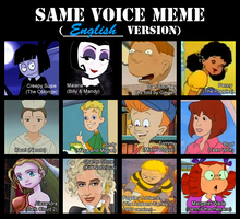 JaviDLuffy's Same voice meme by AmigoDan