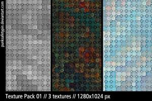 Texture Pack 01 by punksafetypin