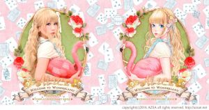 ALICE-Welcome to Wonderland- by azsan