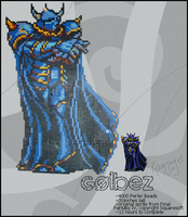 Golbez: Clad in the Dark by kinkkayjay