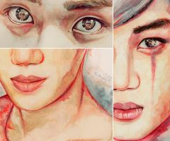 Reflections. Kaisoo. by Evelin-Novemberdusk