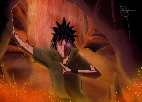 Sasuke Uchiha Final Battle by PerfectChaoX