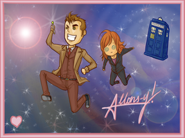 Doctor Who Valentines by Samoubica