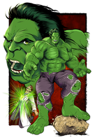 Incredible Hulk by gregbo