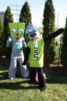 GIR - he's not stupid, he's advanced!!! by shelle-chii