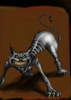 American McGee: Cheshire Cat by InvaderKeith