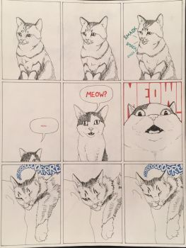 Kitty Comic by bornsoulless