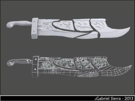 Riven's Runic Blade - League of Legends by Gabo-7