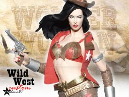 Wild West Wonder Woman Action Figure Custom by Chalana87