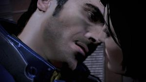 Kaidan Alenko, The Kiss - Mass Effect 3 by loraine95