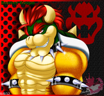 King Bowser by Bowser2Queen