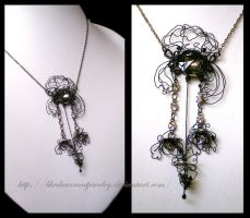 Orchidea by blackcurrantjewelry