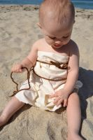 Disney ReCREATE - Ariel Sail Dress with Baby R #1 by audrianna890
