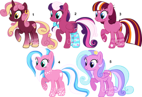 Point MLP:FiM pony adoptables CLOSED by AdolfWolfed4Life