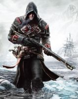 Assassin's Creed Rogue Shay Cormac The Hunter by MatrixUnlimited
