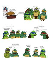 TMNT Christmas pg 1 by Lily-pily