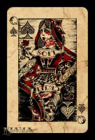 Queen of Spades by Ljama