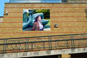 Planned Mural Of Mrs A With Henry Moore by aegiandyad