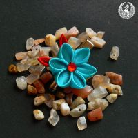 Ruby and Turquoise by Arleen
