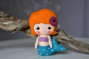 Little mermaid by Etoffees by Etoffees
