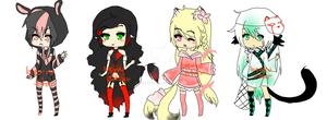 Adopts set 1 Auction {Closed} by berru-star