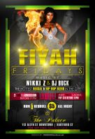 Fiyah Fridays Flyer 3 by AnotherBcreation