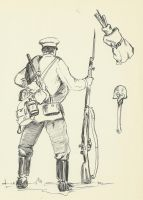 Russo-japanese War 1904 russian infantry 2 by Stcyr74