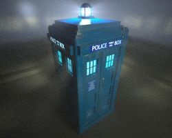 The TARDIS 2 by TheBigDaveC