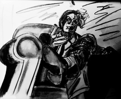 Two-Face sketch by MWaters