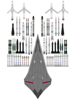 X-68A peregrine falconX-68 Ordnance load out list by bagera3005
