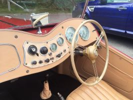 MG TF interior by Car-lover33