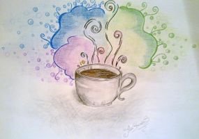 Coffee smell by AnastasiiaS