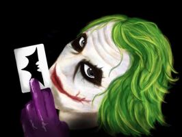 The Joker by zero-shikki