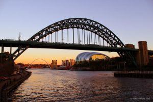 Quayside Sunset by KERphotography