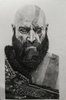 Kratos by MrZainul