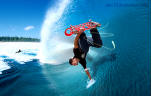 Skate surfing concept by JayC79