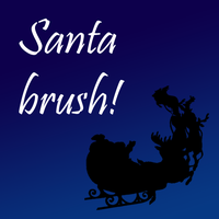 Santa brush by creature002