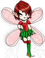 Strawberry Fairy by Meip