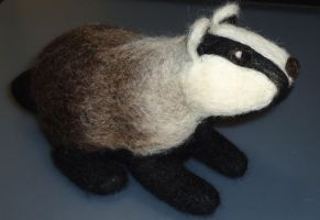 Badger by Lobster-Ball