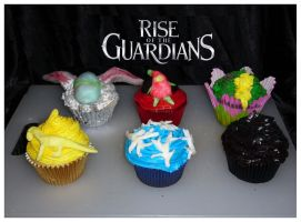 Rise of the Guardians Cupcakes by the-magic-kitchen