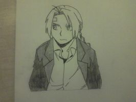 Edward Elric by TrueOtaku321