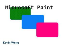 Microsoft Paint by WikipedianMarlith