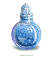 Level 2 Mana Potion - SOLD OUT by adorabless
