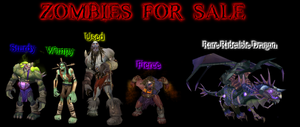 Zombies For Sale by Merkela